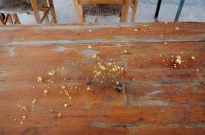 Ciò che resta delle crostatine!