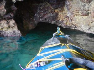 La grotta sotto Torre Cervia
