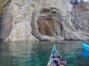 Agropoli: la grotta del faro