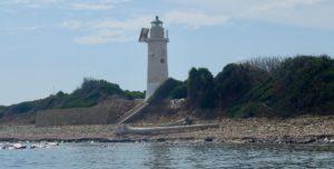 Il faro di Punta Licosa