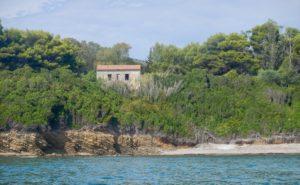 La riserva di fronte all'Isolotto di Punta Licosa