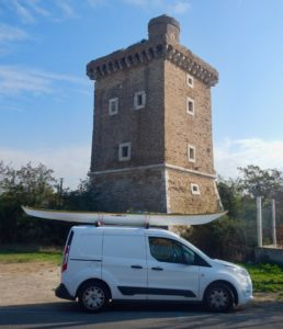 Torre Olevola all'imbarco