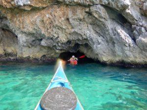L'uscita dalla Grotta Azzurra di Matteo