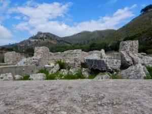 Ciò che rimane delle Villa di Tiberio