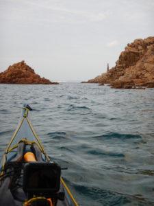 Uno dei diversi dromi - pilastri incontrati nell'Arcipelago