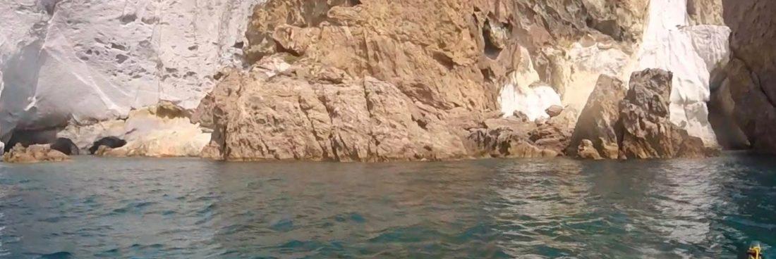 Ponza: tra Capo Bianco e Chiaia di Luna