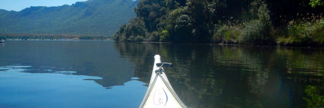 Alla scoperta del kayak e del lago
