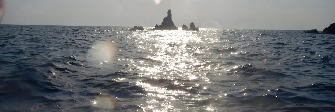 Lipari: 3 brevi video girati lungo la costa ovest